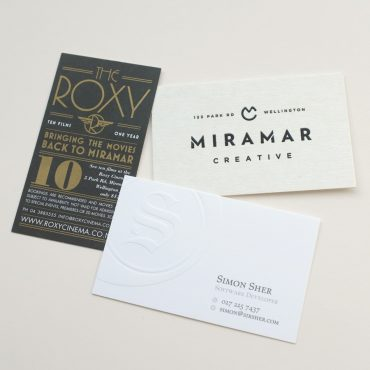 Business Cards - Special Finishing