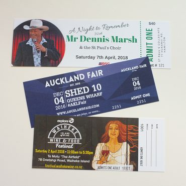 Event Tickets Various 2