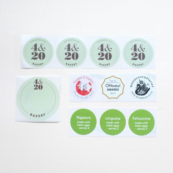 Labels - Round